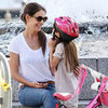 Suri Cruise Bike Riding Pictures