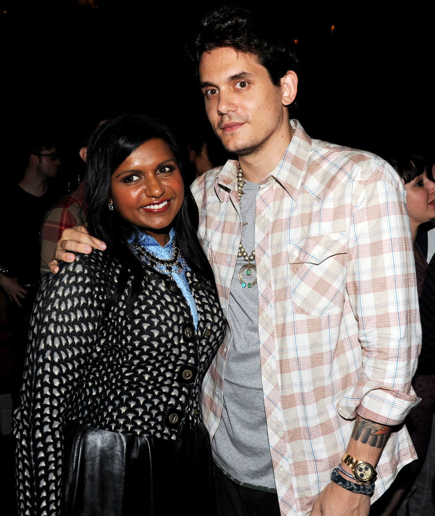 John Mayer stepped out to show his support for pal Mindy Kaling at an August 2012 LA screening of The Mindy Kaling Project.