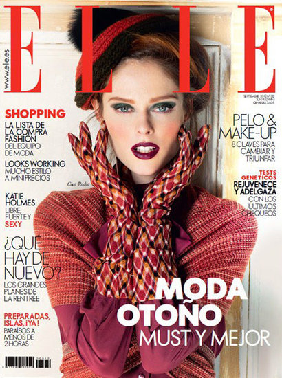 Elle Spain September 2012