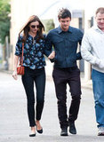 Miranda Kerr and Orlando Bloom were arm-in-arm for a walk in Sydney.