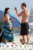 Neve Campbell Debuts Postbaby Body in a Bikini During Family Beach Day