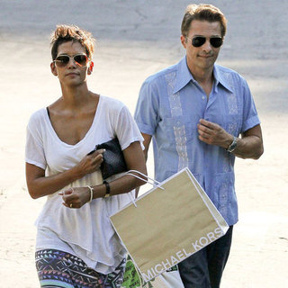 Halle Berry and Olivier Martinez Shopping Pictures
