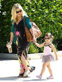 Sarah Michelle Gellar and Charlotte Prinze spent the day in Studio City.
