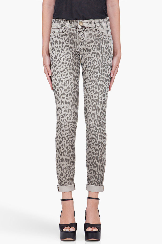 Just the way we love a print on our denim, the statement-making patterns are making their way on these cozier trouser varieties for Fall. Refresh your wardrobe with a leopard-print pair to play off a crisp white button-down.  Current/Elliott Leopard Rolled Corduroy Trousers ($210)