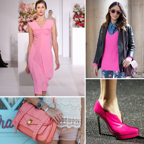 Fall Pink Trend 2012