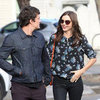 Miranda Kerr and Orlando Bloom Pictures Holding Hands After Lunching at Chiswick in Sydney