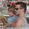 Colin Farrell Takes Son Henry Out For Ice Cream | Pictures