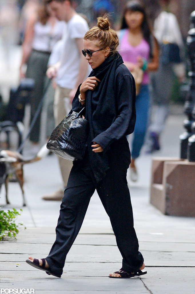 Mary-Kate Olsen was out with boyfriend Olivier Sarkozy in NYC.