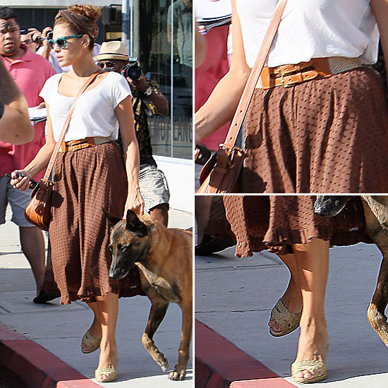 Eva Mendes Street Style   August 21, 2012