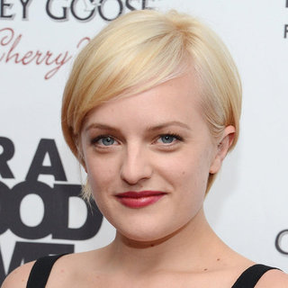 Elisabeth Moss's New Short Blond Hair