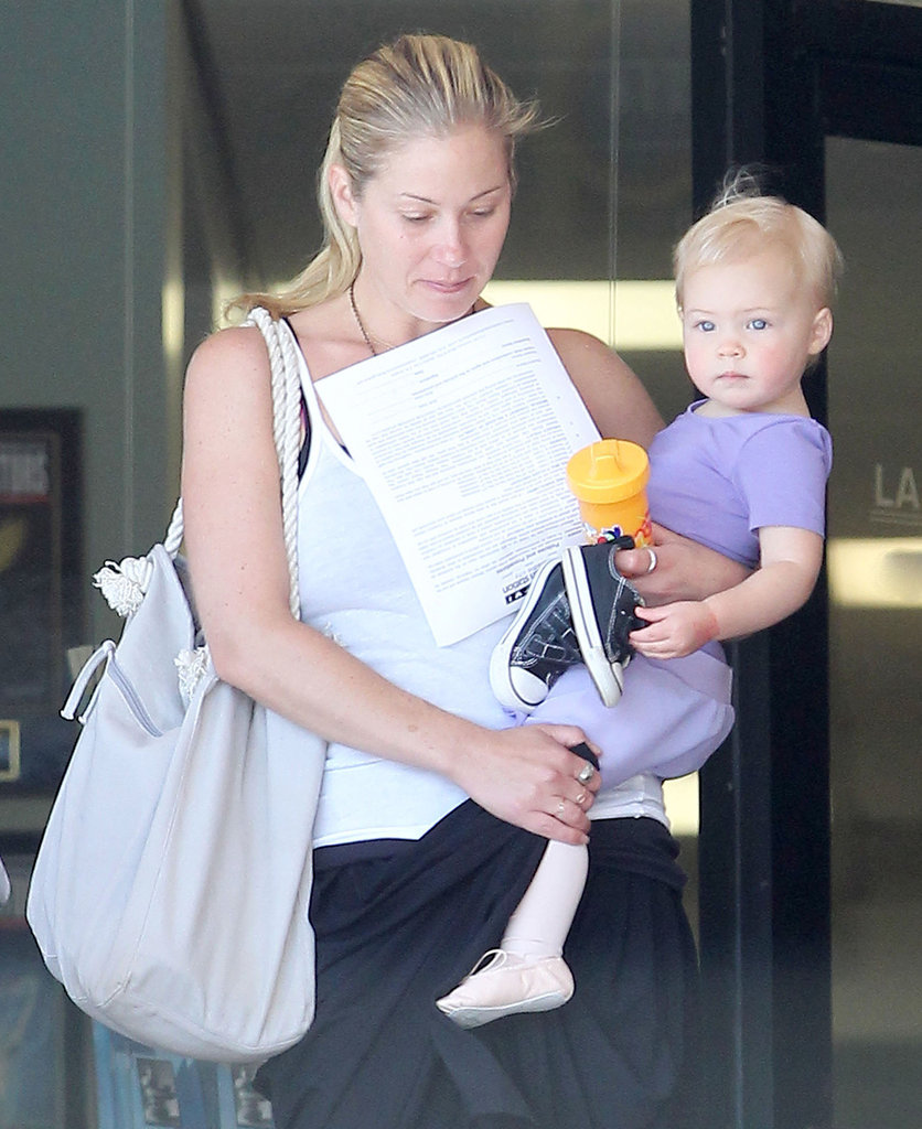 Christina Applegate Spends All Day With Her Dancing Daughter