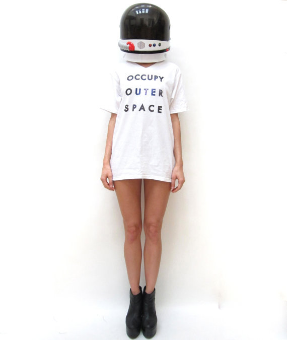 Occupy Outer Space T-Shirt ($25)