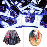 Space Silk and Planet Prints: Supergalactic Fashion Finds