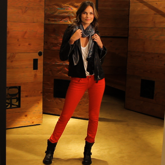 How to Wear Your Red Jeans Right Now  and Into Fall!