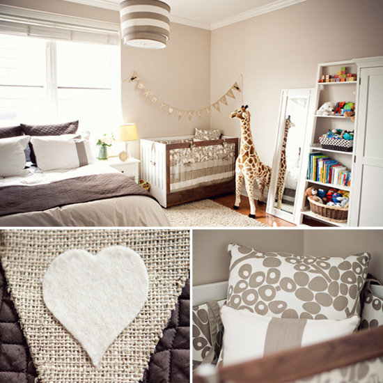 A Modern, Neutral Nursery