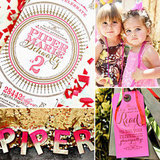 Piper's Pink-and-Gold, Mod-Glam Birthday Bash!
