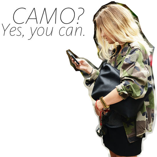Currently Trending: Camouflage Print! What to Buy and How to Wear this Military Inspired Trend