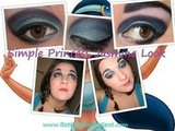 Simple Princess Jasmine Make Up Look