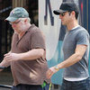 Justin Theroux & Philip Seymour Hoffman at Lunch | Pictures