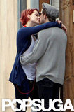 Evan Rachel Wood and Jamie Bell kissed in LA during July.