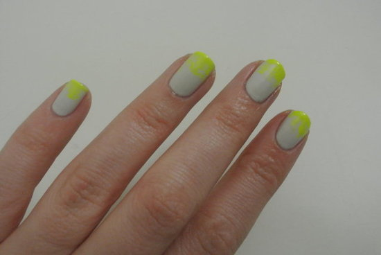 DIY Manicure: Neon Ombré Nails (Oh Yes We Did)