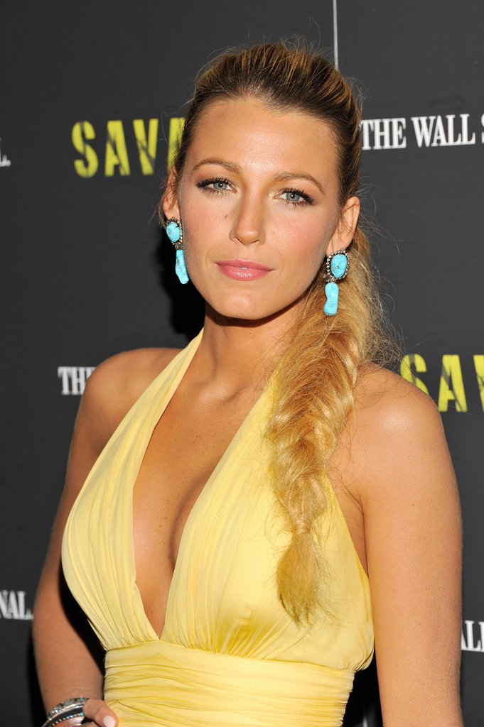 Braids and Blake go together like peas and carrots, as Hollywood's It girl has proved time and again.