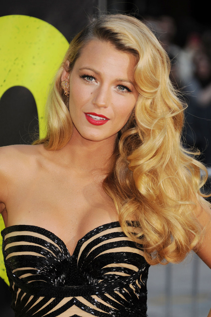 At the LA premiere of Savages in 2012, the starlet dressed to impress in old-school waves and a matte red lip look.