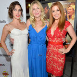Isla Fisher, Kirsten Dunst And James Marsden At LA Premiere Of Bachelorette