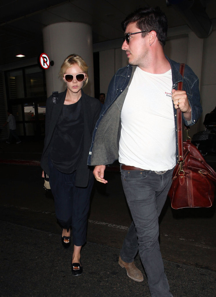 Carey Mulligan Looks to a New Project as She Hits LA With Her Husband
