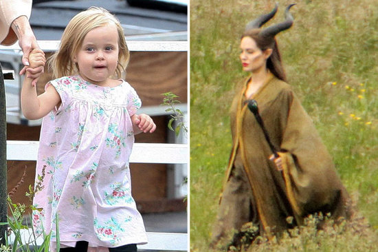 Video: Vivienne Jolie-Pitt's First Acting Role, and More Celeb Kids With Movie Cameos!
