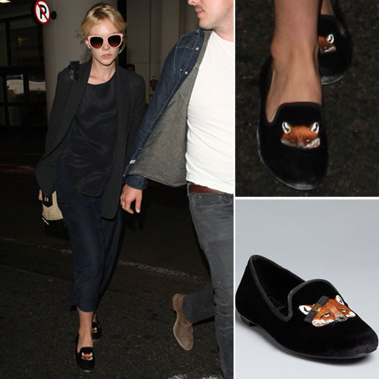 Carey Mulligan showed off some foxy loafers — that can be yours, too.