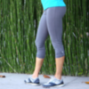 PopSugar Shop Alo Activewear Button Tap Capri Leggings