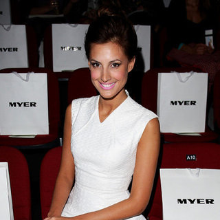 Front Row Celebrity Pictures at 2012 Mercedes-Benz Fashion Festival Sydney MBFF