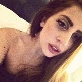 "Superstar Lady Gaga dyed her hair ""Vuitton brown"" and we love the result!"