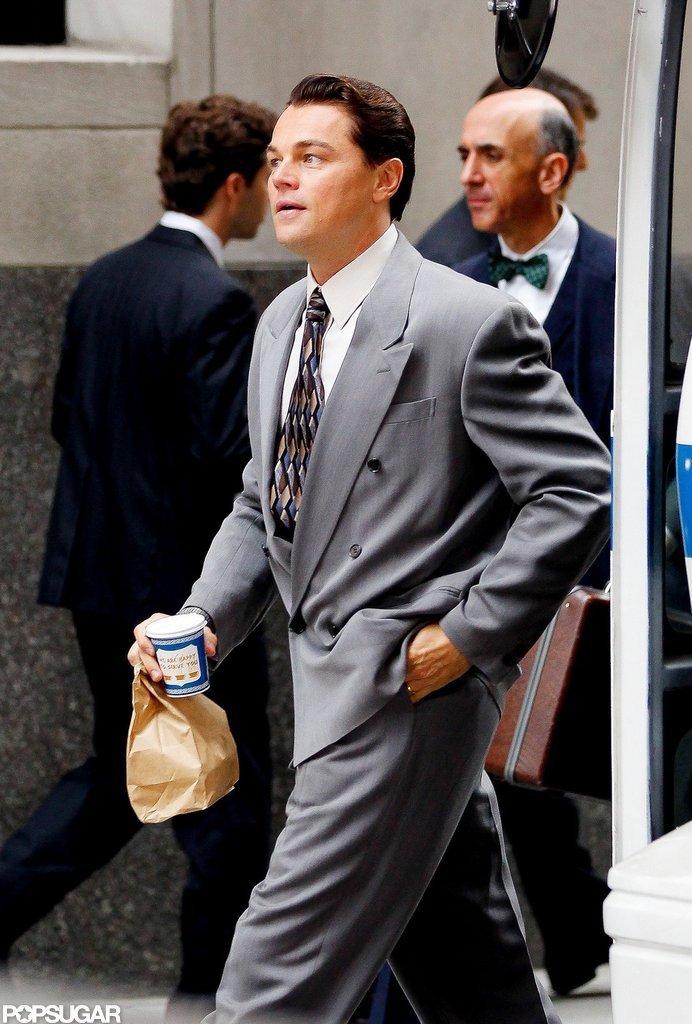 Leonardo DiCaprio Works His Charm on Wall Street