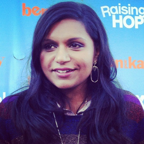 Mindy Kaling promoted her new show at an event for Fox. Source: Instagram user foxbroadcasting