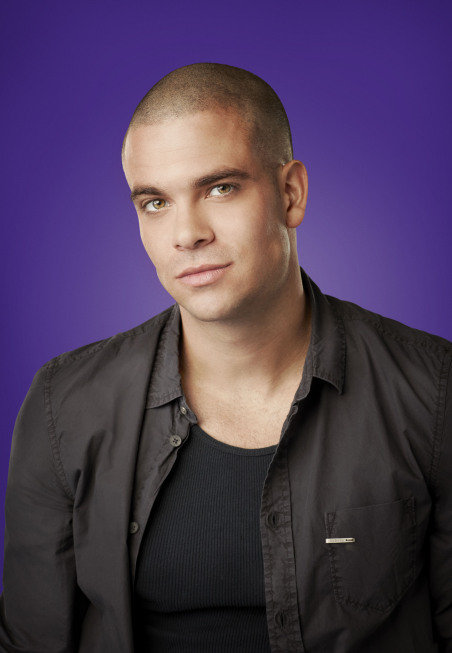 Mark Salling as Puck on Glee.