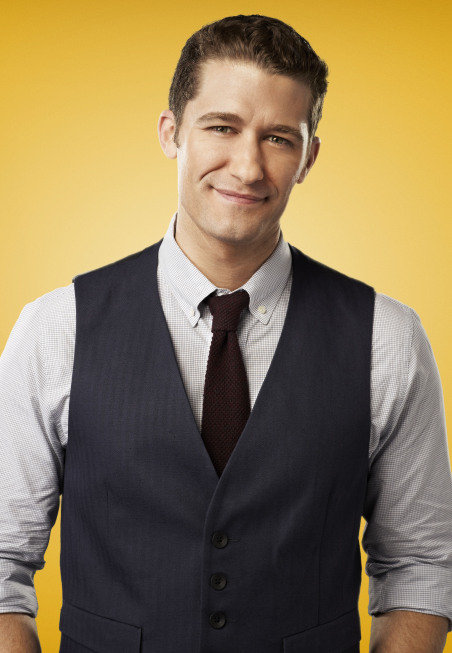 Matthew Morrison as Mr. Schuester on Glee.