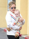 Hilary Duff's Little Man Luca Makes a Cute Fashion Statement