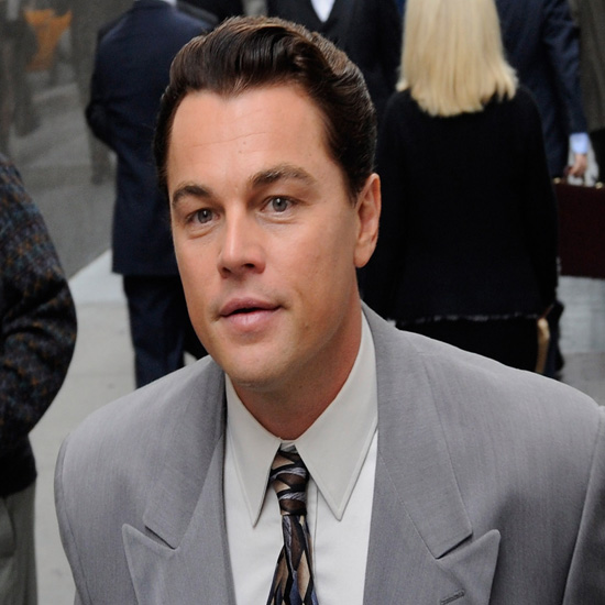 Leonardo DiCaprio Filming The Wolf of Wall Street (Video ... Leonardo Dicaprio Wolf Of Wall Street Hair