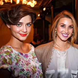 The Whitney Whip Hair at Whitney Port's Mercedes-Benz Fashion Festival Sydney Presentation