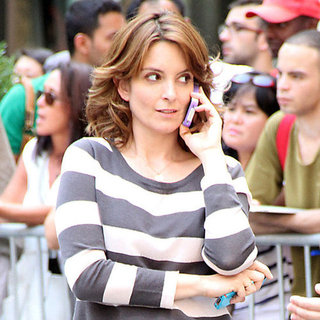 Tina Fey & Alec Baldwin Shoot 30 Rock 7th Season | Pictures