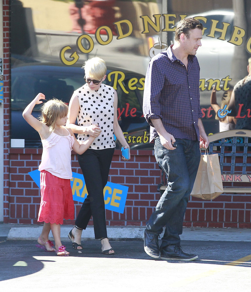 Michelle Williams, Matilda Ledger, and Jason Segel were together.