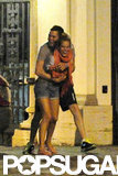 Michael Buble and Luisana Lopilato shared some PDA in Rome in July.