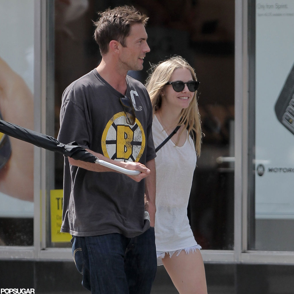 Amanda Seyfried Steps Out Smiling With Her New Man Desmond Harrington