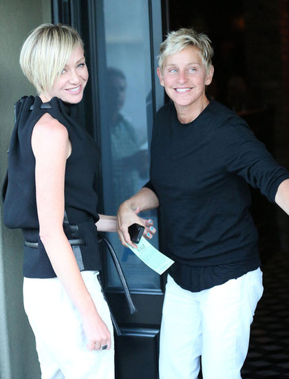 portia dating Comedienne and tv host ellen degeneres and partner portia de rossi, who have been married for seven years, are reportedly calling it quits.