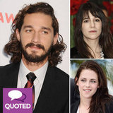 Shia LaBeouf and More Stars Get Intimate About Shooting Sex Scenes