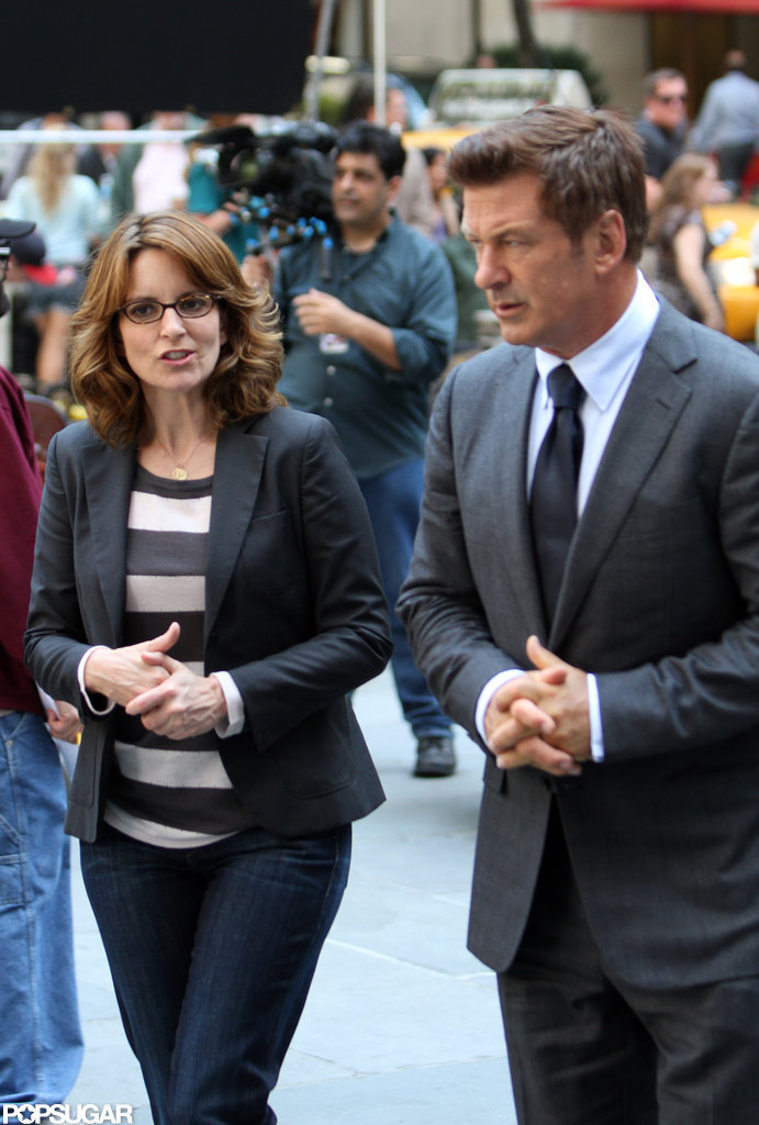 Tina Fey Shoots 30 Rock as Liz Lemon Baby Rumors Emerge