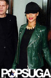 Rihanna voyaged to London in late August.