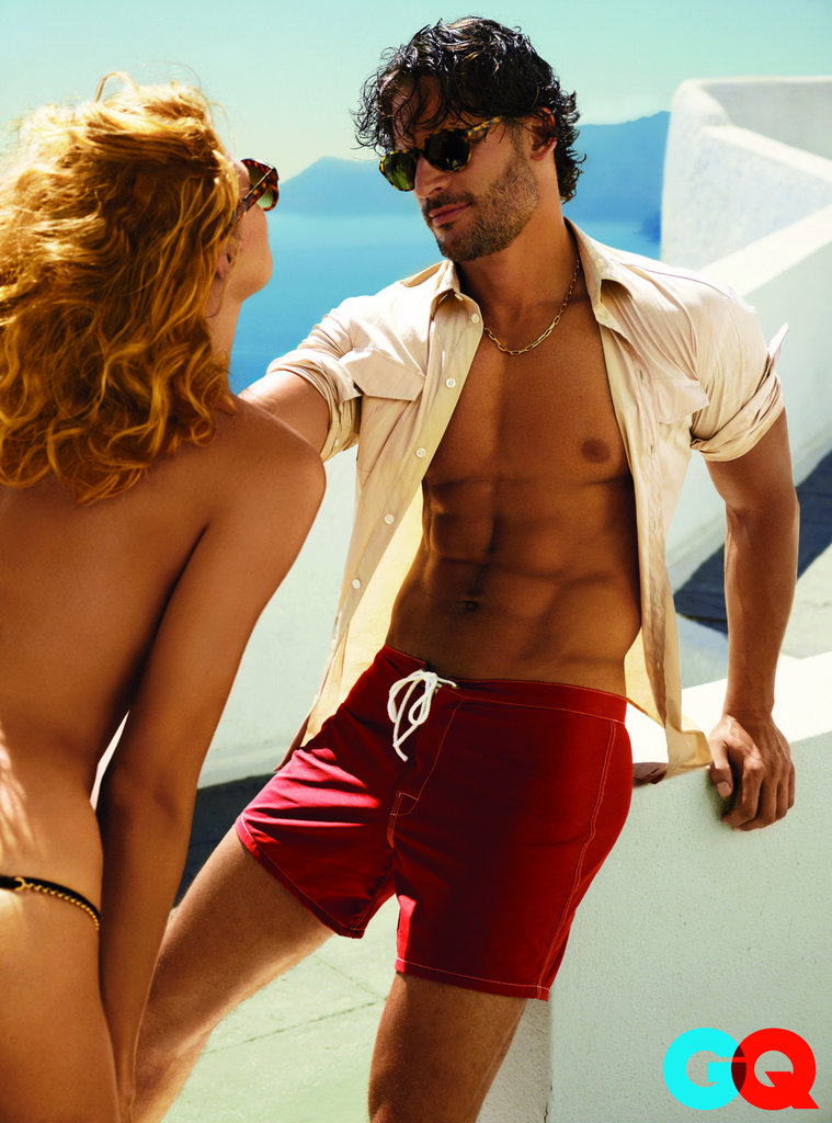 Joe Manganiello showed off his abs in the July 2011 issue of GQ.